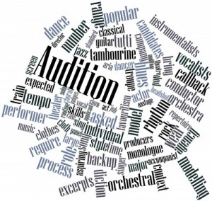 The college music audition is more than just performing the pieces you've learned.