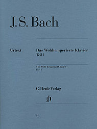 J.S. Bach Well Tempered Clavier Book I