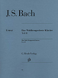 J.S. Bach Well Tempered Clavier Book II